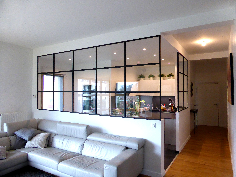 2 verrières d\'intérieur - séparation cuisine & salon - CA2M ...