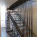 tiges métalliques garde fou escaliers