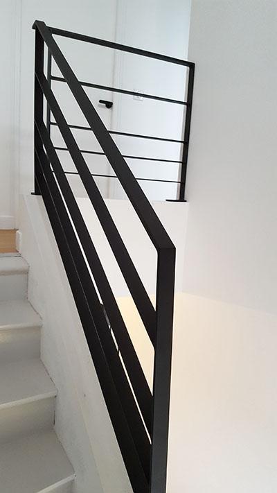 garde corps et main courante en acier ca2m conception et. Black Bedroom Furniture Sets. Home Design Ideas