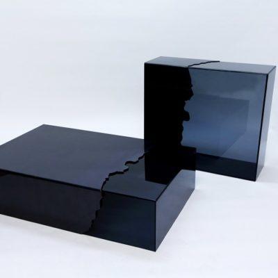 6-table et console OMEGA stendy acier